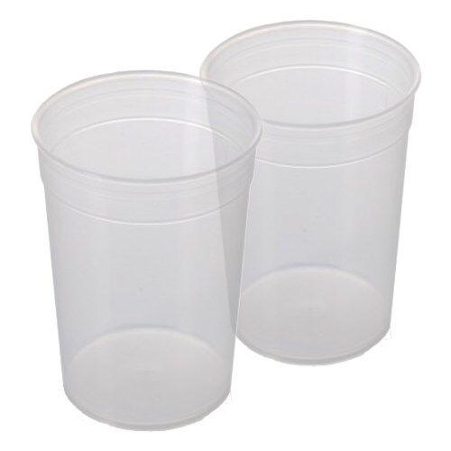 Careserve Verre doseur en plastique - Lot de 2