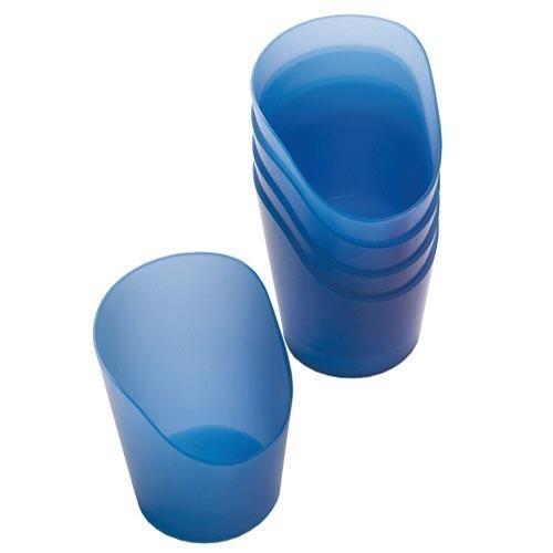 NRS Verre en plastique souple - Pack de 5 - Taille M