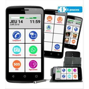 Careserve Smartphone Mobiho Essentiel - Smart initial 5 pouces - Publicité