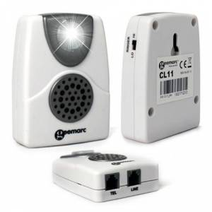 Geemarc Amplificateur de sonnerie de téléphone – CL11 - Publicité