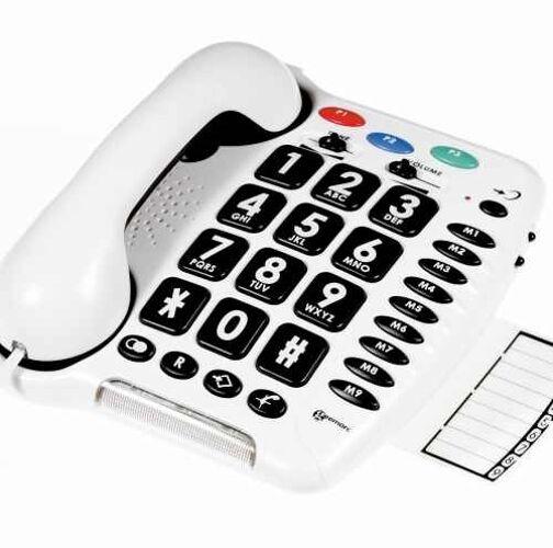 Careserve Téléphone amplifié Cle...
