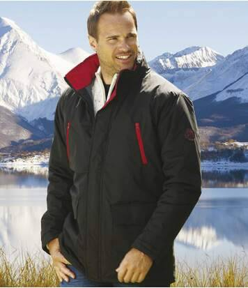 Atlas for Men Parka Déperlante Noire L noir