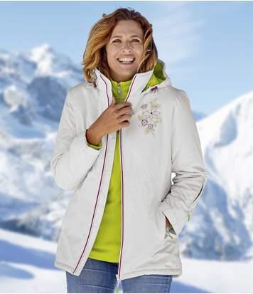 Atlas for Men Veste de Ski Snow Valley S ecru
