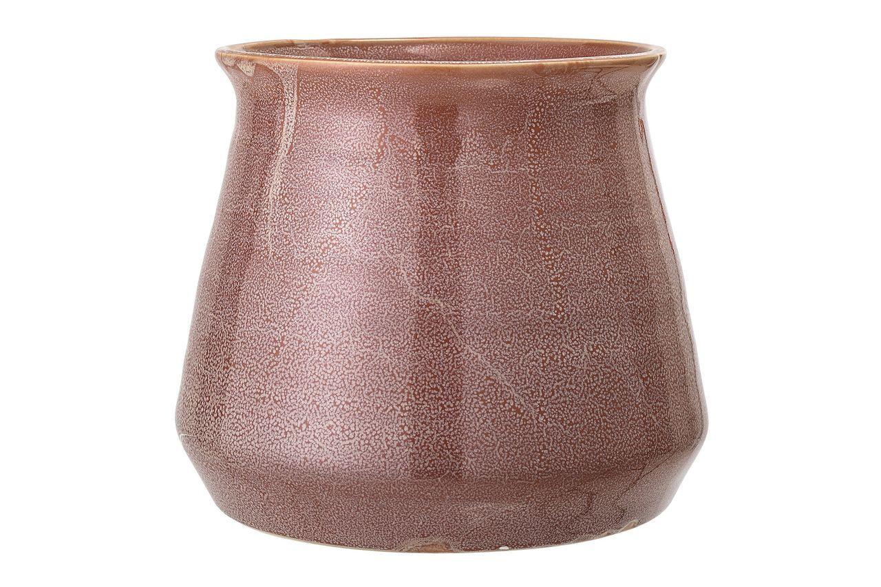 Bloomingville Pot Haucourt en grès marron