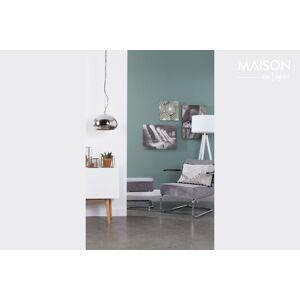 Zuiver Chaise lounge Ridge Rib à accoudoirs couleur gris froid - Publicité