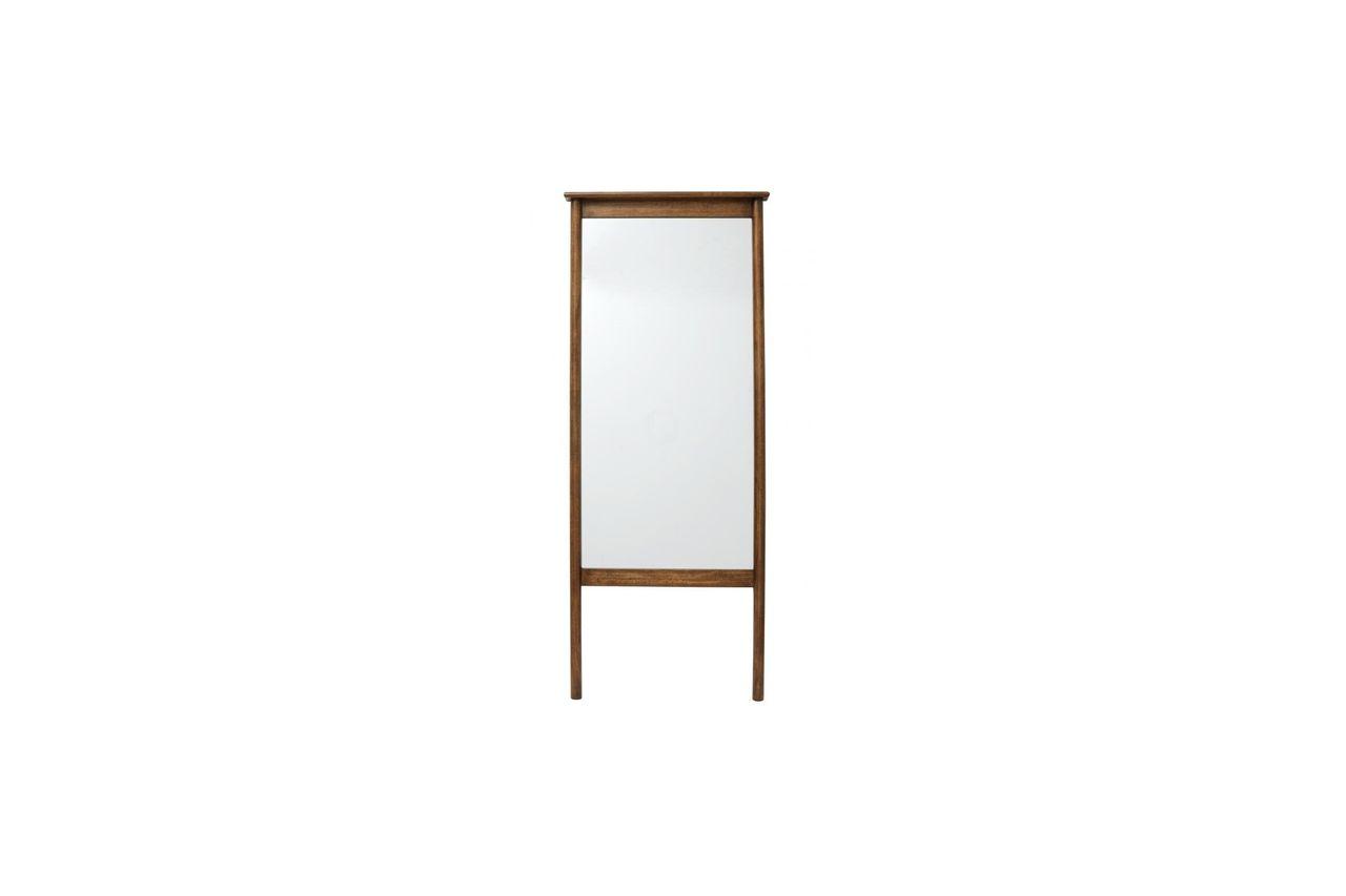 Nordal Miroir sur pied Wasia avec cadre en bois