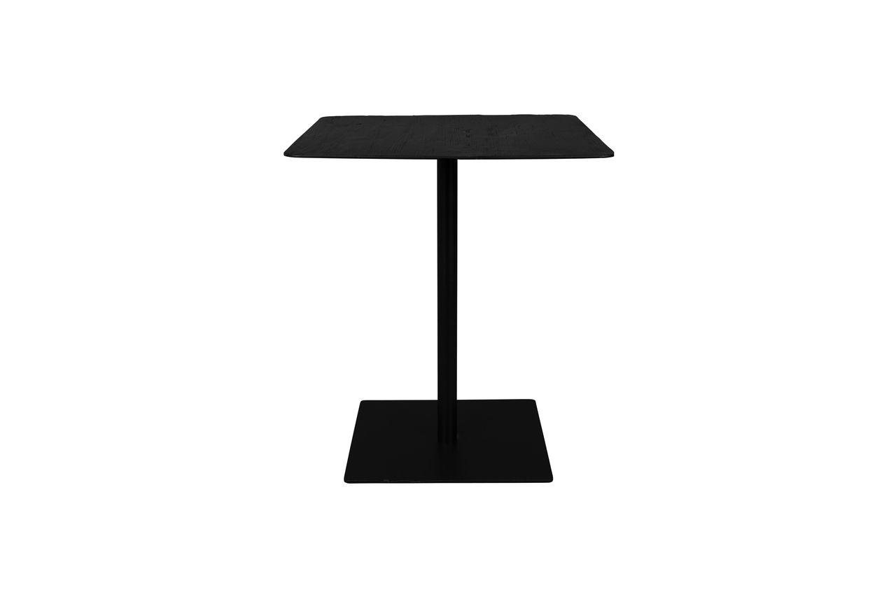 Dutch Bone Table de comptoir Braza carrée coloris noir