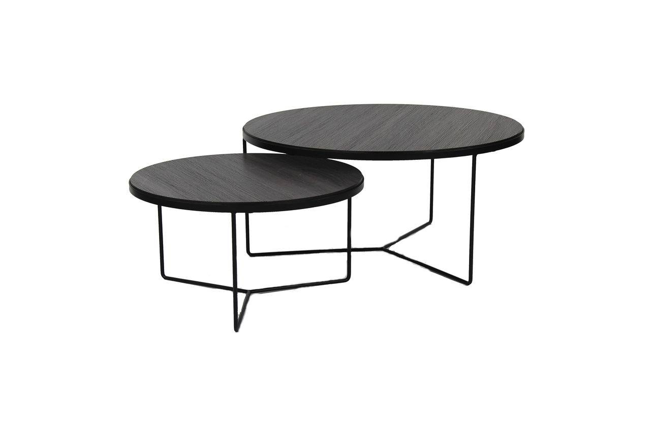 Pomax Tables d'appoint Miso