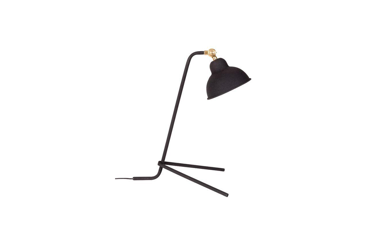 White Label Lampe de bureau Jock noire