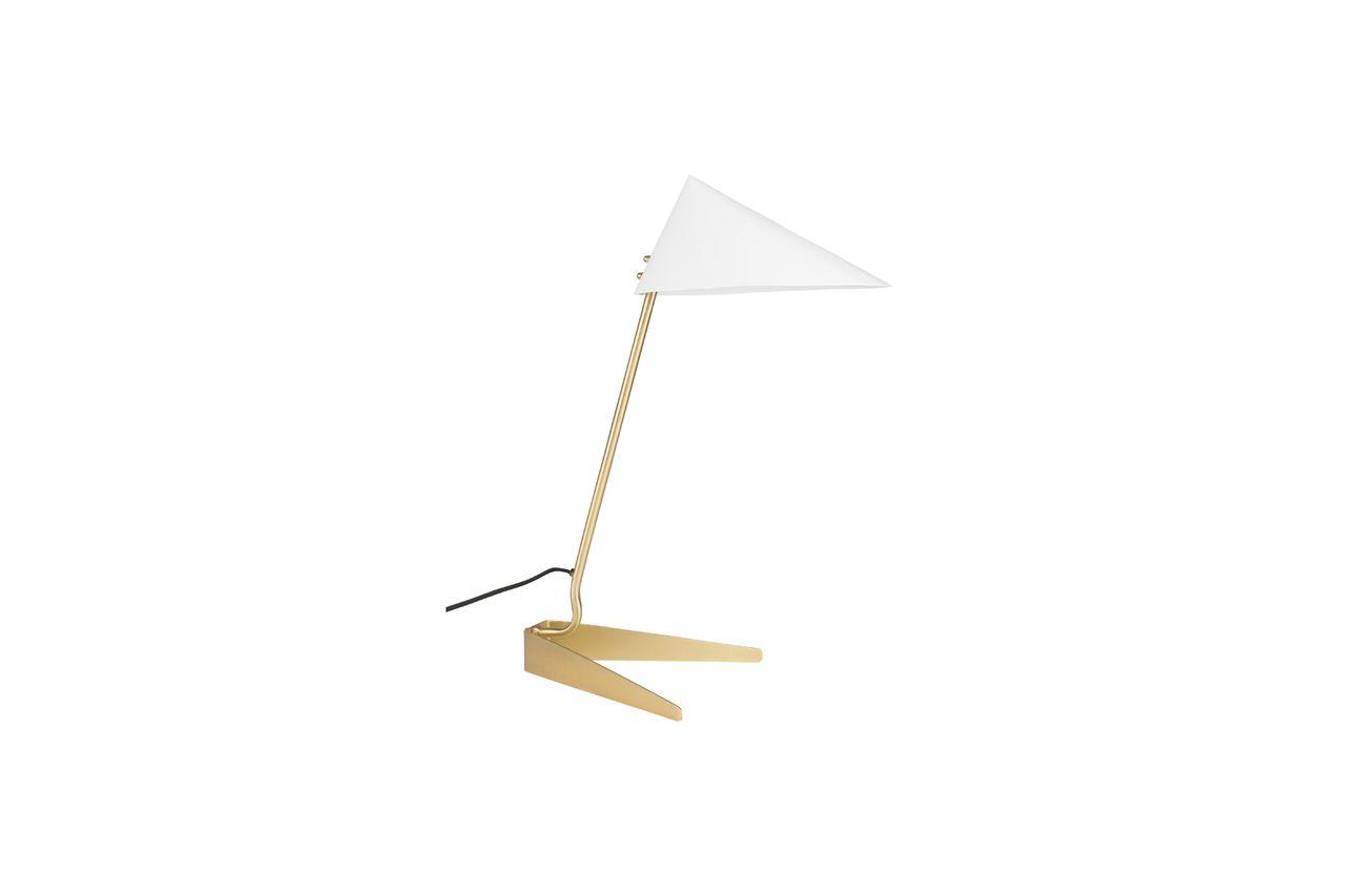 White Label Lampe de bureau Lizzy blanche