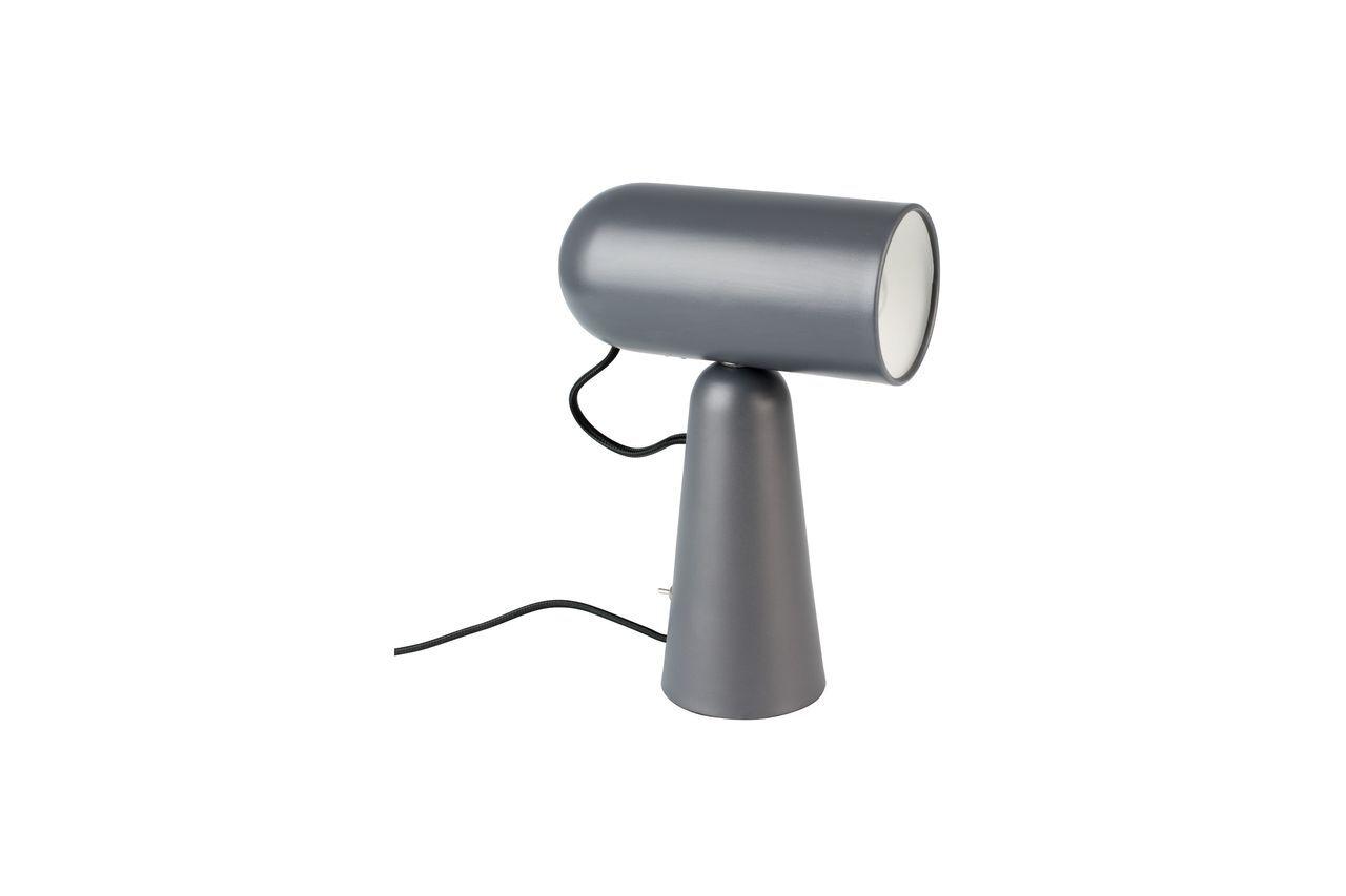 White Label Lampe de bureau Vesper coloris gris foncé