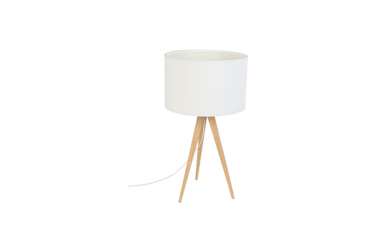 Zuiver Lampe de table Trépied Bois Blanc