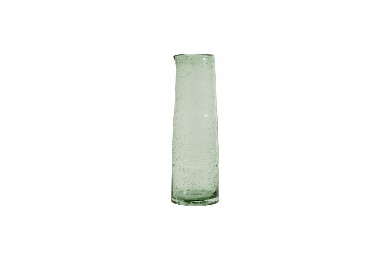 Nordal Pichet en verre fait main Greenie
