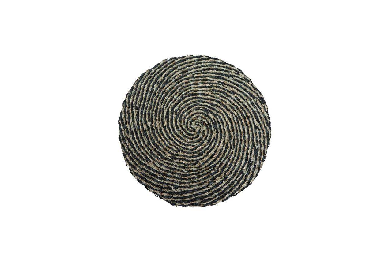 Chehoma Set de table Laveyron spirale en jonc de mer naturel