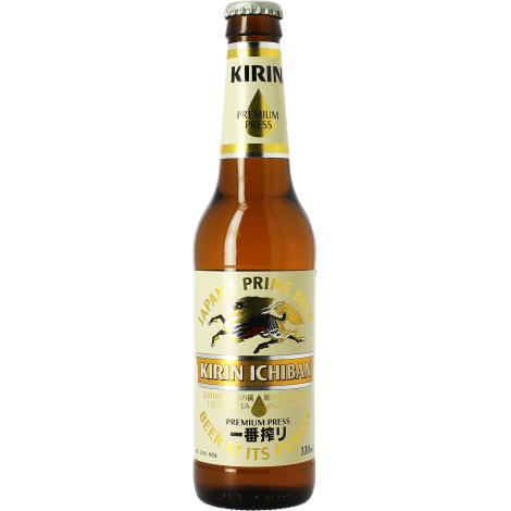 Kirin Brewery Company Kirin Ichiban Beer - Bouteilles De Bière 33 Cl - Kirin Brewery Company - Saveur Bière