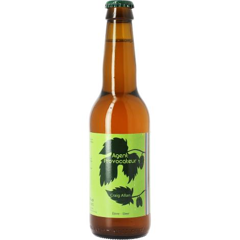 Craig Allan Agent Provocateur - Bouteilles De Bière 33 Cl - Craig Allan - Saveur Bière