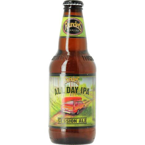 Founders Brewing Company Founders All Day Ipa - Bouteilles De Bière 35,5 Cl - Founders Brewing Company - Saveur Bière