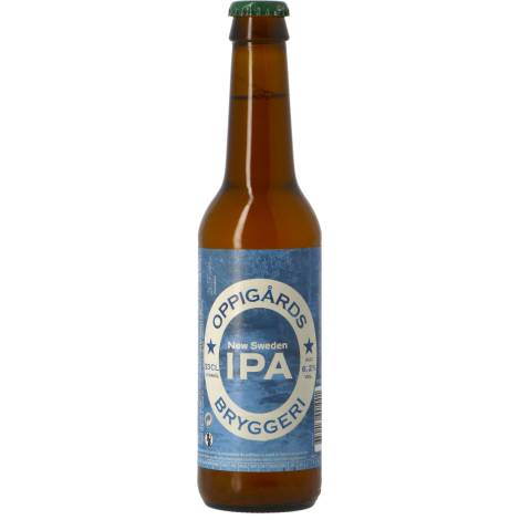 Oppigårds Bryggeri Oppigårds New Sweden Ipa - Bouteilles De Bière 33 Cl - Oppigårds Bryggeri - Saveur Bière