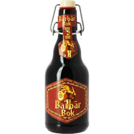Brasserie Lefebvre Barbar Bok - Bouteilles De Bière 33 Cl - Brasserie Lefebvre - Saveur Bière