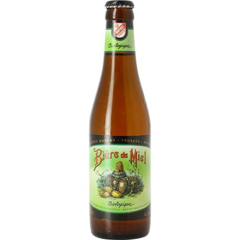 Brasserie Dupont Bière De Miel Bio - Bouteilles De Bière 33 Cl - Brasserie Dupont - Saveur Bière