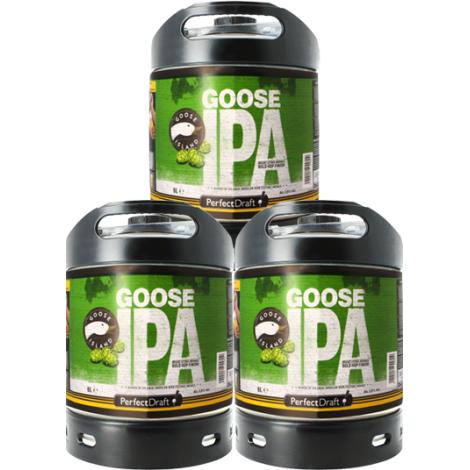 Goose Island Beer Company Pack 3 Fût de Bières 6L Goose Island Ipa   Goose Island Beer Company   Saveur Bière