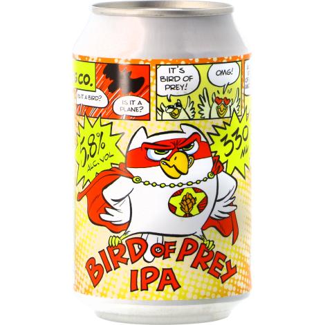 Uiltje Brewing Company Uiltje Bird Of Prey Ipa - Bouteilles De Bière 33 Cl - Uiltje Brewing Company - Saveur Bière