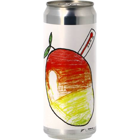Brewski Mangofeber Dipa - Can - Bouteilles De Bière 33 Cl - Brewski - Saveur Bière