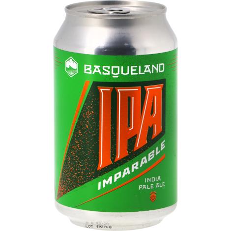Basqueland Brewing Project Basqueland Imparable Ipa - Can - Bouteilles De Bière 33 Cl - Basqueland Brewing Project - Saveur Bière