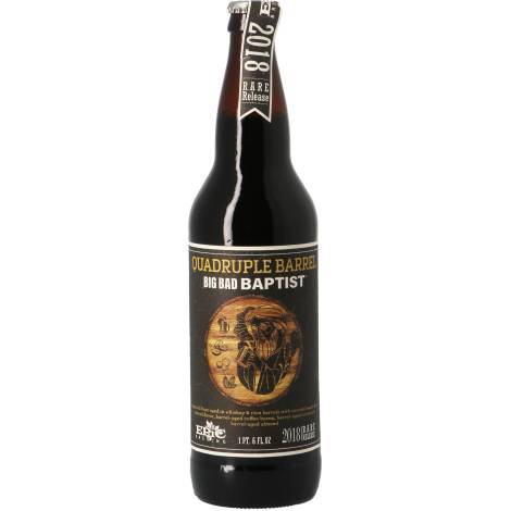 Epic Brewing Co. Epic Big Bad Baptist Quadruple Barrel Rum And Whisky Ba - Bouteilles De Bière 65 Cl - Epic Brewing Co. - Saveur Bière