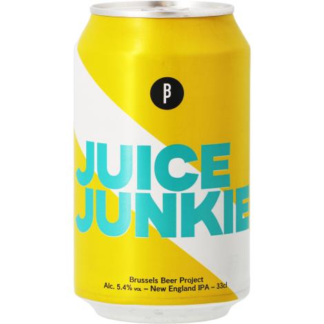 Brussels Beer Project Juice Junkie - Bouteilles De Bière 33 Cl - Brussels Beer Project - Saveur Bière