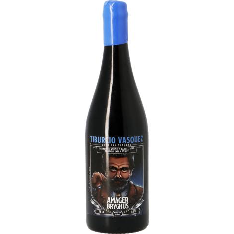 Amager Bryghus Amager American Outlaws Tiburcio Vasquez - Jack Daniels Ba - Bouteilles De Bière 75 Cl - Amager Bryghus - Saveur Bière