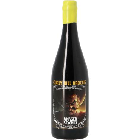 Amager Bryghus Amager American Outlaws Curly Bill Brocius - Mezcal Ba - Bouteilles De Bière 75 Cl - Amager Bryghus - Saveur Bière