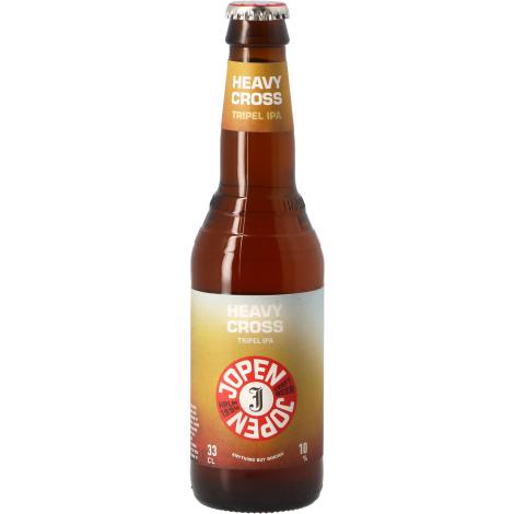 Jopen Heavy Cross - Bouteilles De Bière 33 Cl - Jopen - Saveur Bière