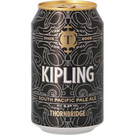 Thornbridge Brewery Thornbridge Kipling - Bouteilles De Bière 33 Cl - Thornbridge Brewery - Saveur Bière