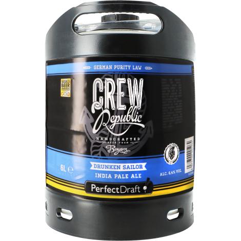 Perfectdraft Fût de Bière 6L Crew Republic Drunken Sailor   Perfectdraft   Saveur Bière