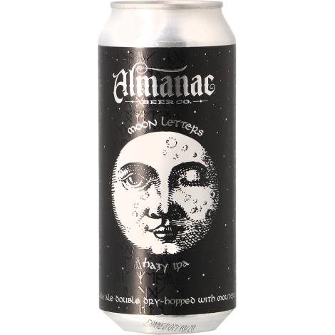 Almanac Beer Company Almanac - Moon Letters Hazy Ipa - Bouteilles De Bière 50 Cl - Almanac Beer Company - Saveur Bière