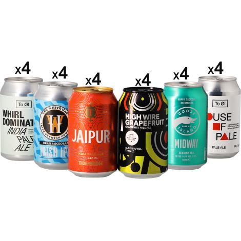 Saveur Bière Assortiments De Bière : Mega Pack Ipa Pale Ale - 24 Canettes   Saveur Bière