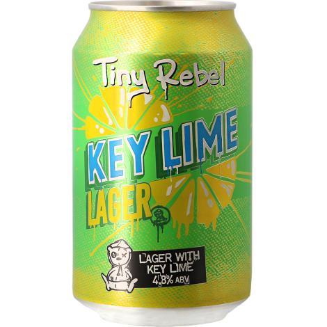 Tiny Rebel Key Lime Lager - Bouteilles De Bière 33 Cl - Tiny Rebel - Saveur Bière