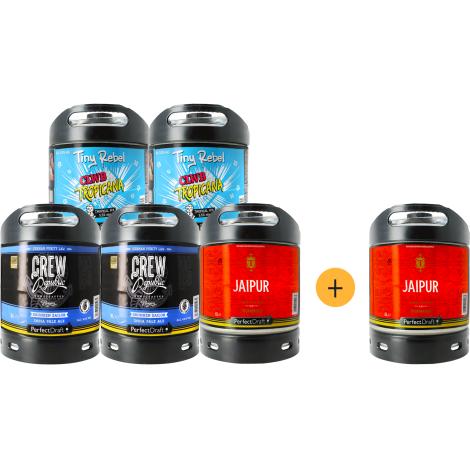 Perfectdraft Pack 5 Fût de Bières Ipa + 1 Offert   Perfectdraft   Saveur Bière