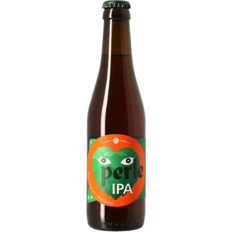 Brasserie Perle Perle Ipa - Bouteilles De Bière 33 Cl - Brasserie Perle - Saveur Bière