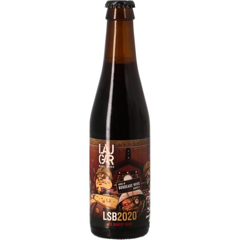 Laugar Brewery Laugar Lsb 2020 Bordeaux Ba - Bouteilles De Bière 33 Cl - Laugar Brewery - Saveur Bière