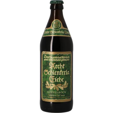 Brauerei Heller Aecht Schlenkerla Eiche Doppelbock - Bouteilles De Bière 50 Cl - Brauerei Heller - Saveur Bière