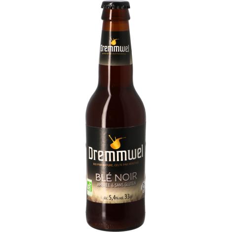 Brasserie de Bretagne Dremmwel Blé Noir - Bio Sans Gluten - Bouteilles De Bière 33 Cl - Brasserie De Bretagne - Saveur Bière