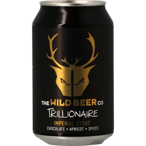 The Wild Beer Co Wild Beer Trillionaire - Bouteilles De Bière 33 Cl - The Wild Beer Co - Saveur Bière
