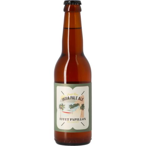 Effet Papillon India Pale Ale - Bouteilles De Bière 33 Cl - Effet Papillon - Saveur Bière