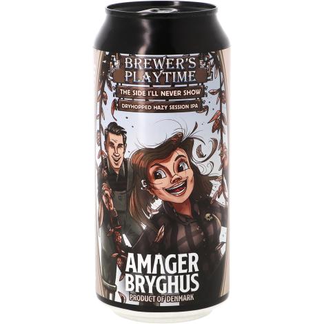 Amager Bryghus Amager Brewer's Playtime - The Side I'll Never Show - Bouteilles De Bière 44 Cl - Amager Bryghus - Saveur Bière