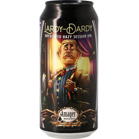 Amager Bryghus Amager Lardy-Dardy - Bouteilles De Bière 44 Cl - Amager Bryghus - Saveur Bière
