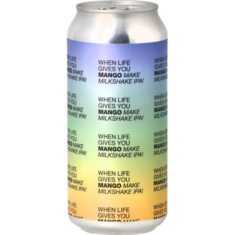 To Øl When Life Gives You Mango... Make Milkshake Ipa! - Bouteilles De Bière 44 Cl - To Øl - Saveur Bière