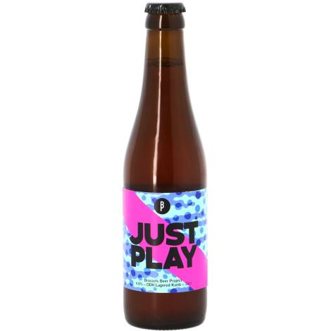 Brussels Beer Project Just Play - Bouteilles De Bière 33 Cl - Brussels Beer Project - Saveur Bière