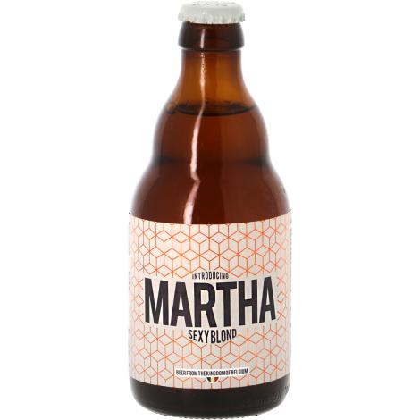 The Brew Society Heule Martha Sexy Blond - Bouteilles De Bière 33 Cl - The Brew Society Heule - Saveur Bière